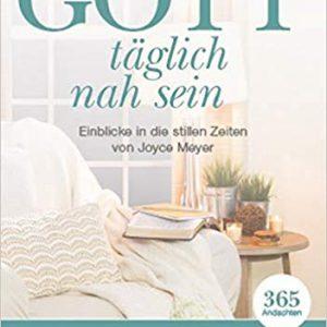 Eventfinder24 Shop Buecher Gott täglich nah sein Einblicke in die stillen Zeiten von Joyce Meyer