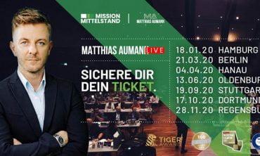 Mission Mittelstand mit Matthias Aumann 2020 [Frankfurt]
